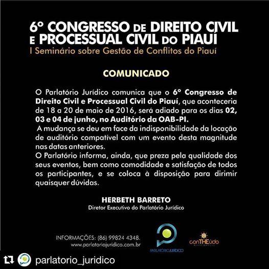 CONGRESSO DE CPC