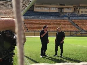 Sheik diz que pode seguir no Corinthians em outro cargo; veja entrevista completa no EE.