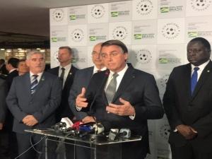 Bolsonaro: governo manterá saques do FGTS, apesar da preocupação de empresários.