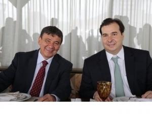 Governador e bancada debatem pontos da Reforma da Previdência com Rodrigo Maia.