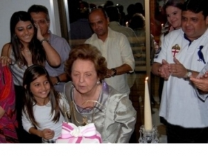 Morre Dona Mazé, a mãe do deputado Júlio Arcoverde.