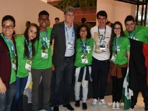 Aluno do Piauí integrou equipe vencedora Grand Prix de Inovação 2018.