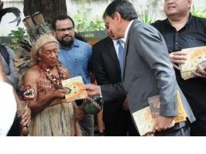 Governo lança cartilha na abertura da 17ª Semana dos Povos Indígenas.