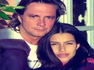 Cleo mostra foto antiga ao lado de Fábio Jr.