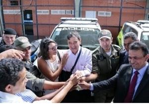 Piauí recebe novas viaturas para reforço na segurança pública.
