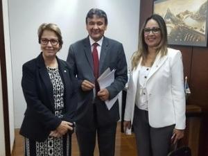Dias apresenta ao MAPA um plano para erradicar a Peste Suína do Nordeste.