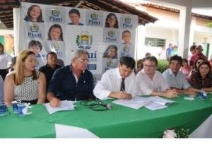 Governo libera investimentos em infraestrutura e abastecimento para Milton Brandão.