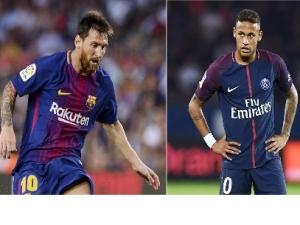 Neymar e Messi são os jogadores mais decisivos nas principais ligas nacionais da Europa.
