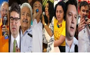 Confira a agenda dos candidatos a governador do Piauí desta segunda-feira.
