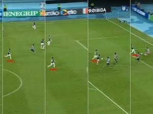 Análise: Palmeiras parece jogar sem confiança e se desfazer de seu estilo.
