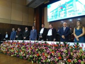 Erivan Lopes toma posse como presidente do Tribunal de Justiça do Piauí.